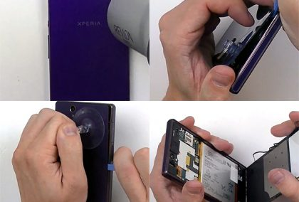 Bảng giá sửa chữa Sony Xperia Z, Z1, Z2, Z3, Z3C, Z4, Z5, XA, XA Ultra